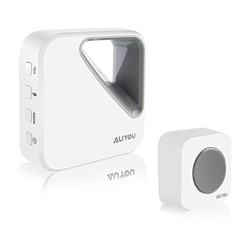 Normally $14, this wireless doorbell is 60 percent off with the code (Photo via Amazon)