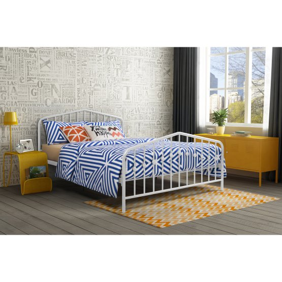 Normally $230, this bed is 51 percent off (Photo via Hayneedle)