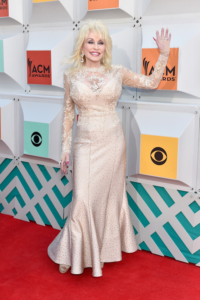 LAS VEGAS, NEVADA - APRIL 03: Recording artist Dolly Parton attends the 51st Academy of Country Music Awards at MGM Grand Garden Arena on April 3, 2016 in Las Vegas, Nevada. (Photo by David Becker/Getty Images)
