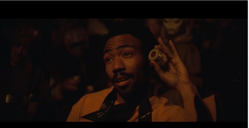 Lando Calrissian (Photo: YouTube Screenshot)