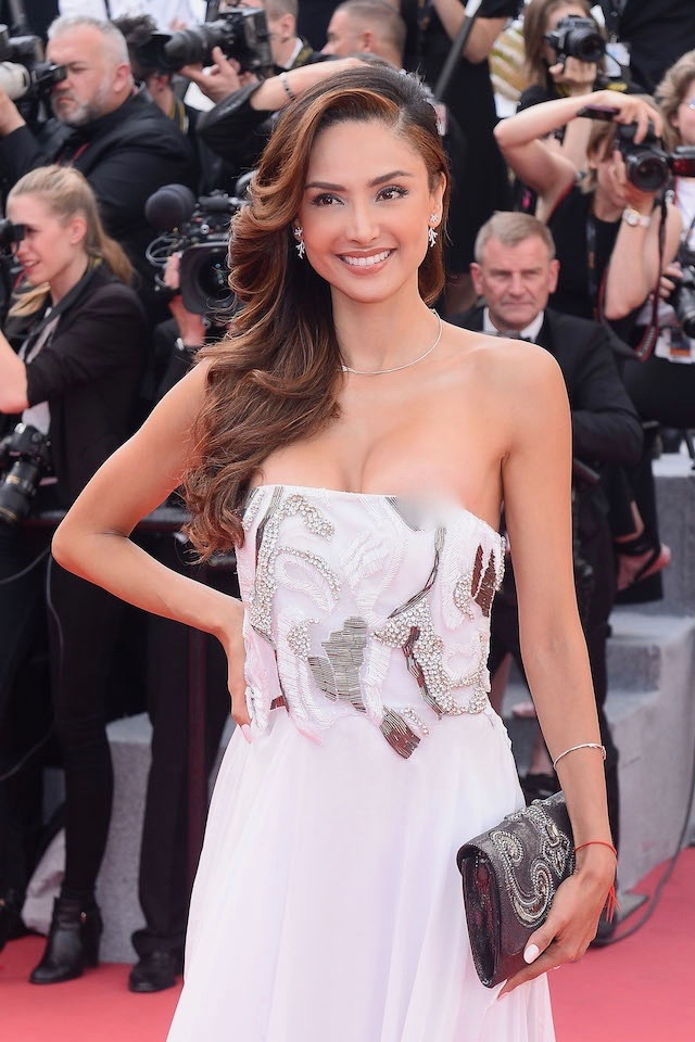 Red carpet opening 71st Film Festival in Cannes, France Pictured: Patricia Contreras Picture by: Splash News
