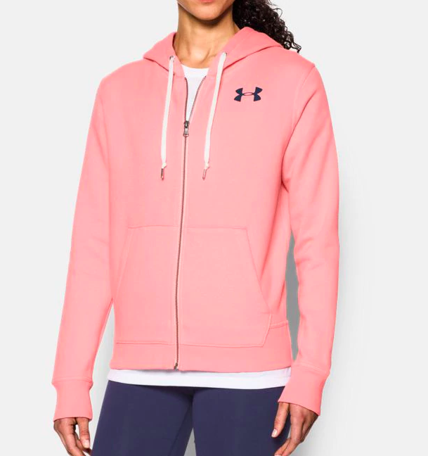 Normally $60, this full-zip is a total of 44 percent off with the code (Photo via UA)