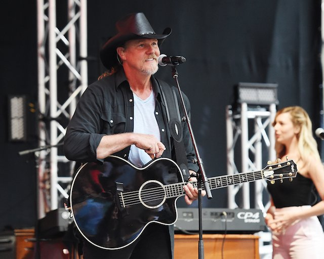 NEW YORK, NY - AUGUST 04: American Country music singer and actor, Trace Adkins performs on Fox & Friends' All-American Summer Concert Series at FOX Studios on August 4, 2017 in New York City. (Photo by Nicholas Hunt/Getty Images)