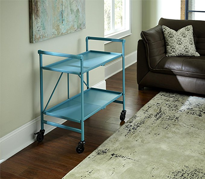 Normally $80, this serving cart is 38 percent off (Photo via Amazon)