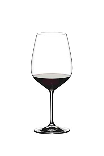 Normally $60, this set of 2 cabernet wine glasses is 25 percent off today (Photo via Amazon)