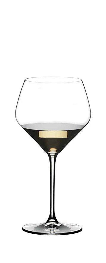 Normally $60, this set of 2 chardonnay wine glasses is 25 percent off today (Photo via Amazon)