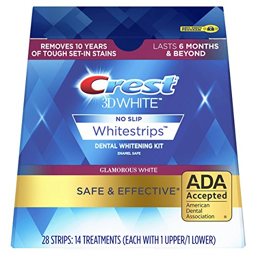 Normally $45, these whitestrips are 26 percent off today (Photo via Amazon)