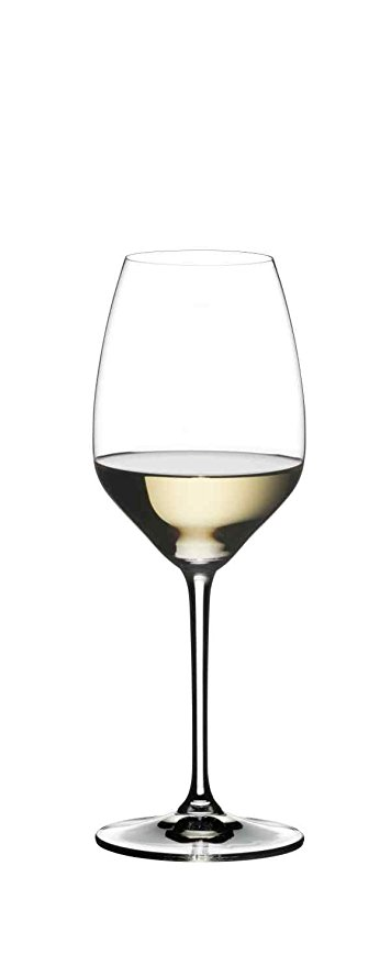 Normally $60, this set of 2 riesling wine glasses is 25 percent off today (Photo via Amazon)