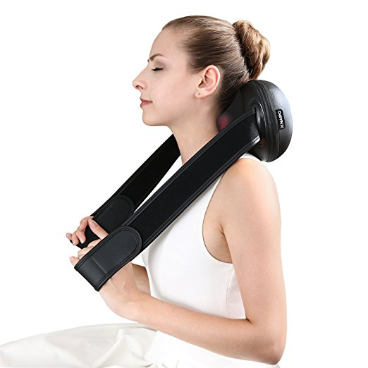 Normally $30, this neck massager is 10 percent off with this code (Photo via Amazon)