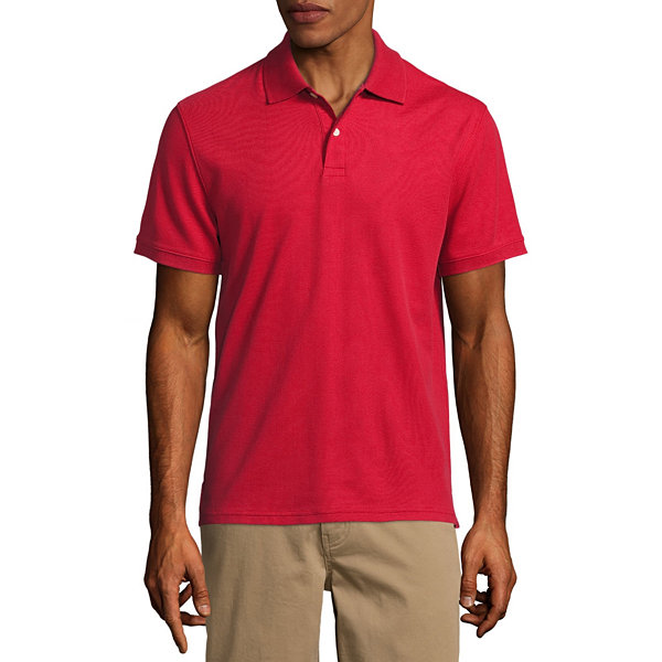 Normally $26, this polo is over 70 percent off with the code (Photo via JC Penney)