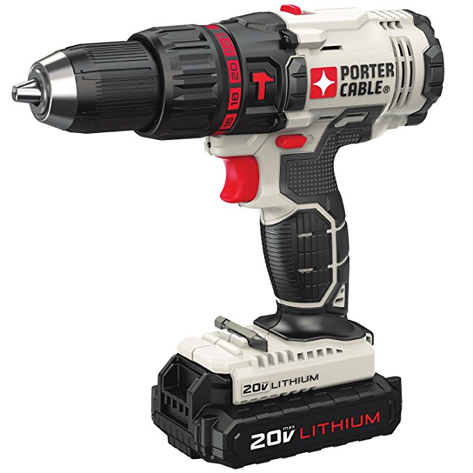 Normally $120, this hammer drill kit is 33 percent off today (Photo via Amazon)