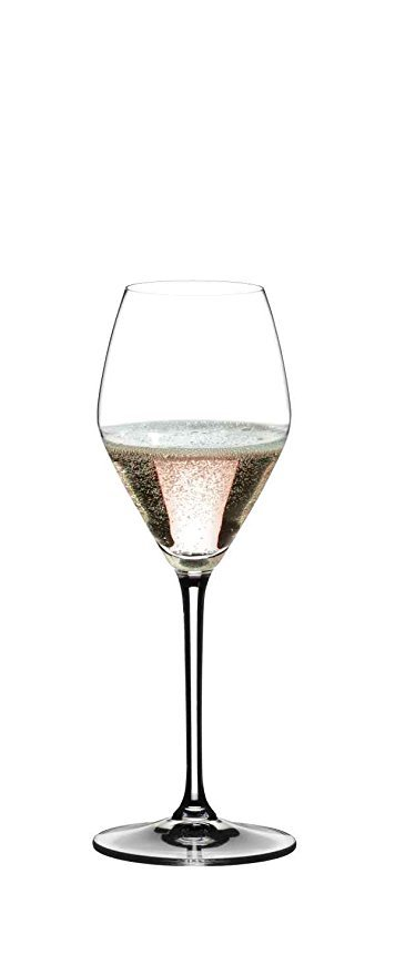 Normally $60, this set of 2 rosé wine glasses is 25 percent off today (Photo via Amazon)