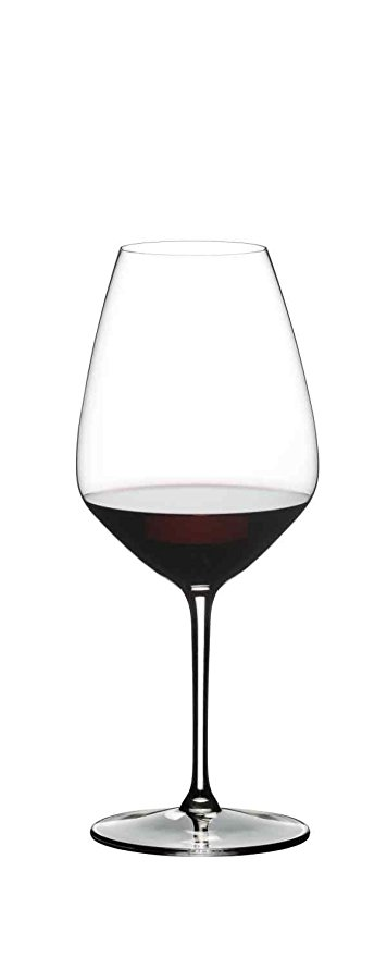Normally $60, this set of 2 Shiraz wine glasses is 25 percent off today (Photo via Amazon)