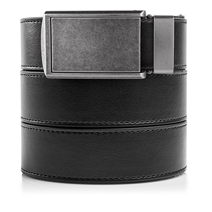 Normally $75, this ratchet belt is 62 percent off today. It is available in many color options (Photo via Amazon)