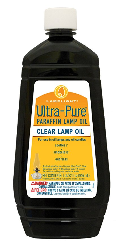 Normally $14, this #1 bestselling lamp oil is 45 percent off today (Photo via Amazon)