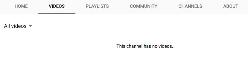 YouTube screenshot of Blender Foundation's page. June 19, 2018. (Image: YouTube screenshot)