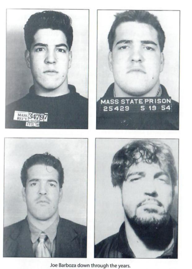 "Joe ""The Animal"" Barbazo through the years (Massachusetts State Prison)"