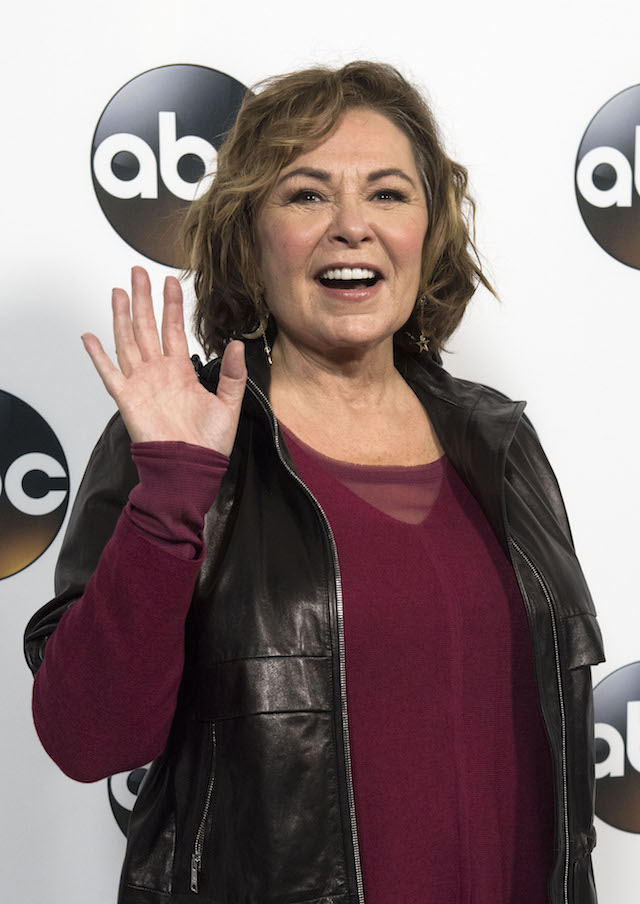 Actress Roseanne Barr attends the Disney ABC Television TCA Winter Press Tour on January 8, 2018, in Pasadena, California. / AFP PHOTO / VALERIE MACON (Photo credit should read VALERIE MACON/AFP/Getty Images)
