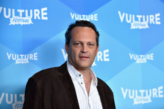NEW YORK, NY - MAY 20: Actor Vince Vaughn attends Tim Ferriss and Vince Vaughn: In Conversation at the 2017 Vulture Festival at Milk Studios on May 20, 2017 in New York City. (Photo by Bryan Bedder/Getty Images for Vulture Festival)