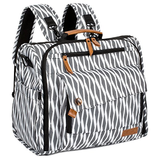 Normally $57, this diaper bag is 30 percent off today (Photo via Amazon)