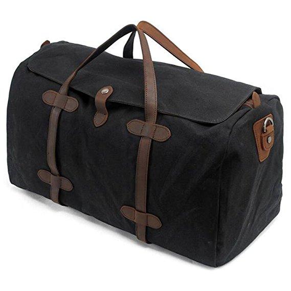 Normally $47, this duffel handbag is 25 percent off today (Photo via Amazon)