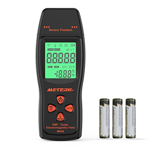 Normally $40, this EMF meter is 30 percent off with this code (Photo via Amazon)