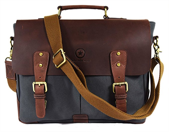 Normally $150, this #1 bestselling messenger bag is 75 percent off today (Photo via Amazon)