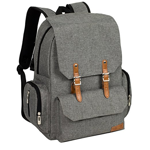 Normally $50, this diaper backpack is 40 percent off today (Photo via Amazon)