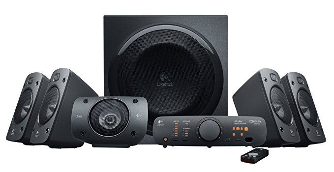 Normally $400, this surround sound speaker system is 50 percent off today (Photo via Amazon)