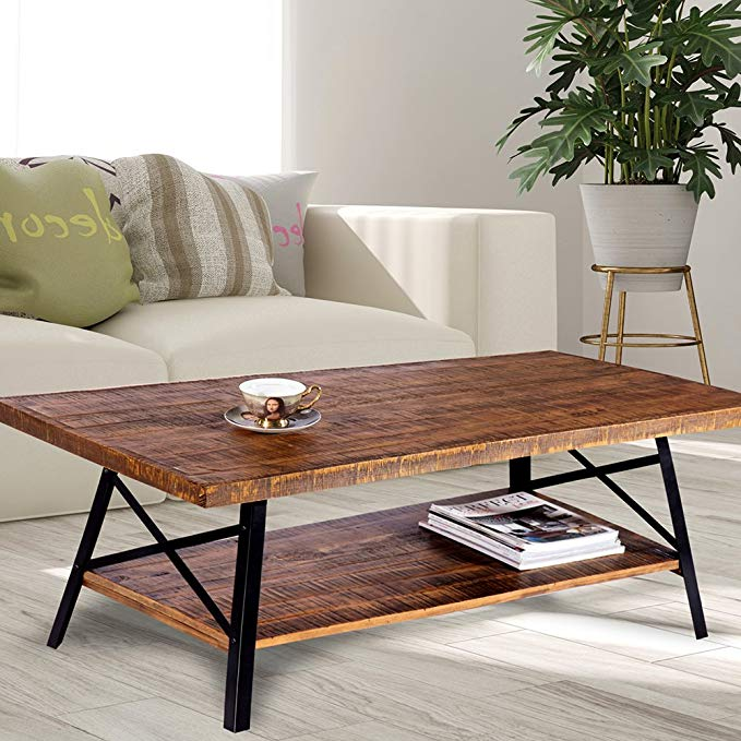 Normally $130, this coffee table is 8 percent off (Photo via Amazon)