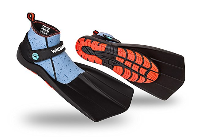 Normally $90, this snorkel fins are 44 percent off today (Photo via Amazon)