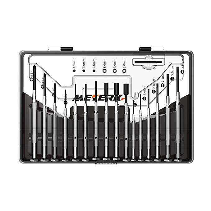 Normally $11, this screwdriver set is 35 percent off with this code (Photo via Amazon)