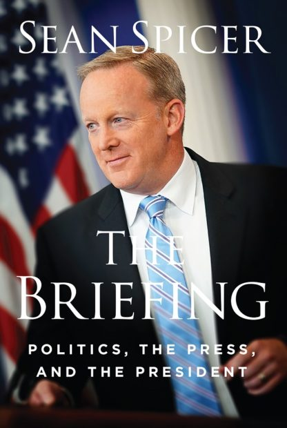 Sean Spicer book cover courtesy of Regnery