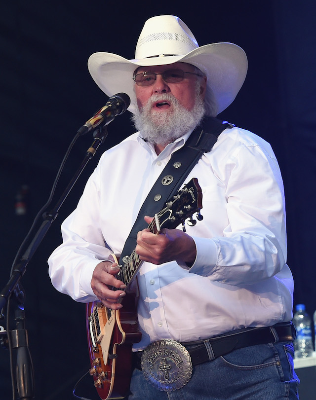 MANHATTAN, KS - JUNE 22: Charlie Daniels performs during Kicker Country Stampede - Day 2 at Tuttle Creek State Park on June 22, 2018 in Manhattan, Kansas. (Photo by Rick Diamond/Getty Images for Kicker Country Stampede)