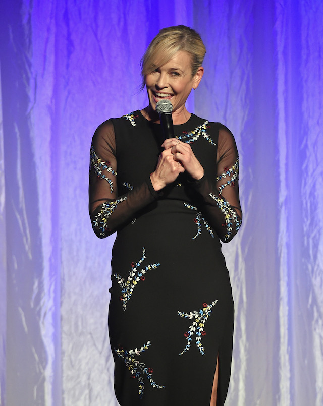 Host Chelsea Handler speaks onstage at the Hollywood Foreign Press Association's Grants Banquet at the Beverly Wilshire Four Seasons Hotel on August 2, 2017 in Beverly Hills, California. (Photo by Kevin Winter/Getty Images)