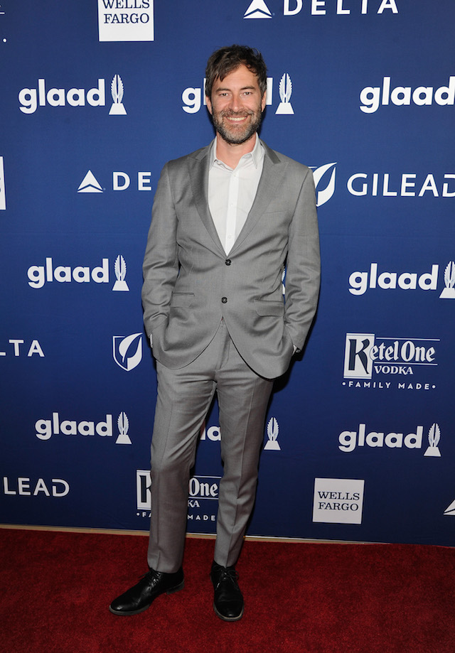Mark Duplass celebrates achievements in LGBTQ community at the 29th Annual GLAAD Media Awards Los Angeles, in partnership with LGBTQ ally, Ketel One Family-Made Vodka at The Beverly Hilton Hotel on April 12, 2018 in Beverly Hills, California. (Photo by John Sciulli/Getty Images for Ketel One Family-Made Vodka)