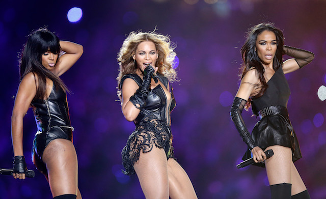 Destiny's Child during Super Bowl XLVII at the Mercedes-Benz Superdome on February 3, 2013 in New Orleans, Louisiana. (Photo: Getty Images)