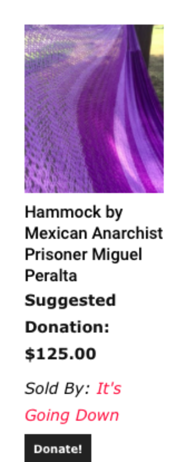 It's Going Down Hammock By Miguel Peralta