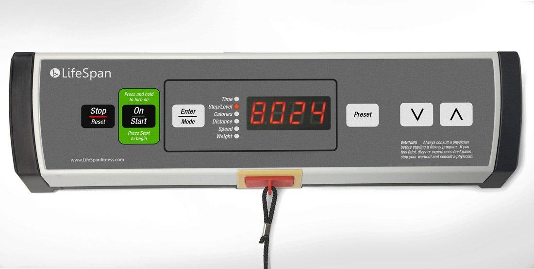 LifeSpan TR1200-DT3 Under Desk Treadmill Control Pad (Amazon Images)