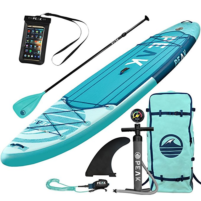 Normally $650, this bestselling paddle board is 22 percent off today (Photo via Amazon)