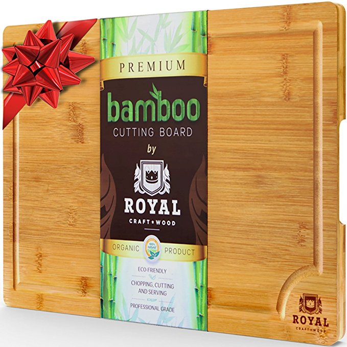 Normally $37, this cutting board is 46 percent off (Photo via Amazon)
