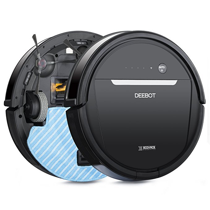 Normally $400, this robotic vacuum cleaner is 35 percent off today (Photo via Amazon)