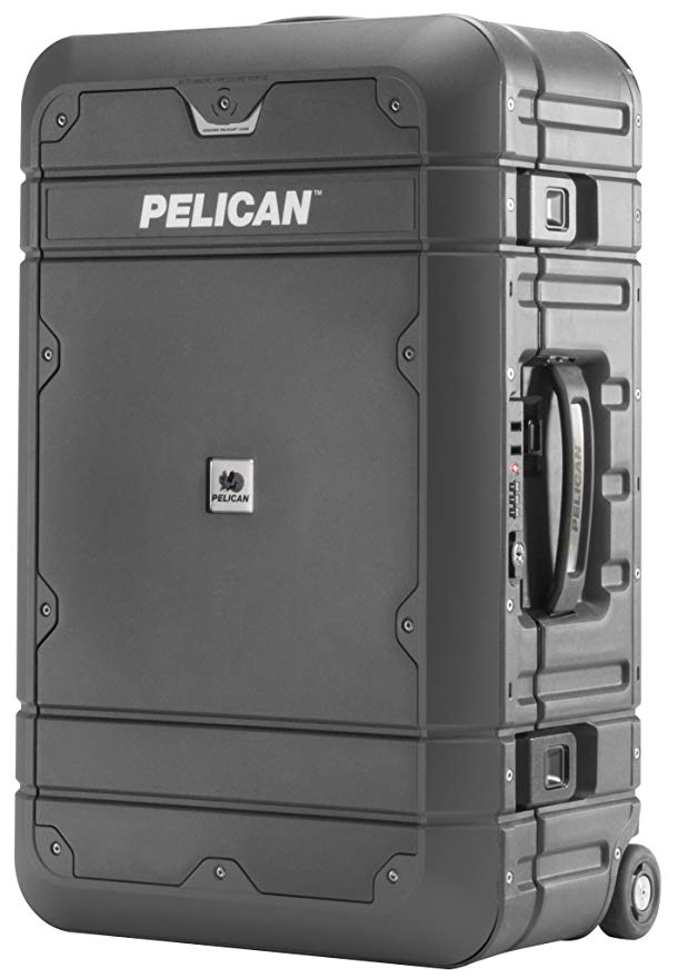 Normally $400, this Pelican luggage is 36 percent off today (Photo via Amazon)