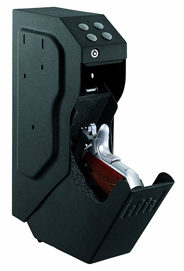 Normally $210, this handgun safe is 52 percent off for Prime Day (Photo via Amazon)