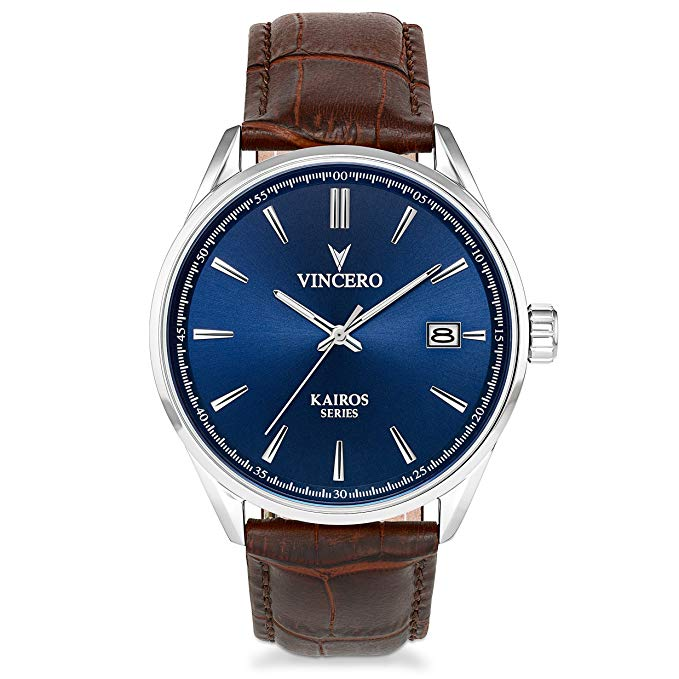 Normally $140, this men's watch is 30 percent off today (Photo via Amazon)