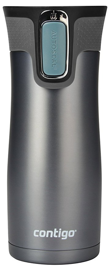 Normally $24, this Contigo travel mug is 54 percent off for Prime Day (Photo via Amazon)