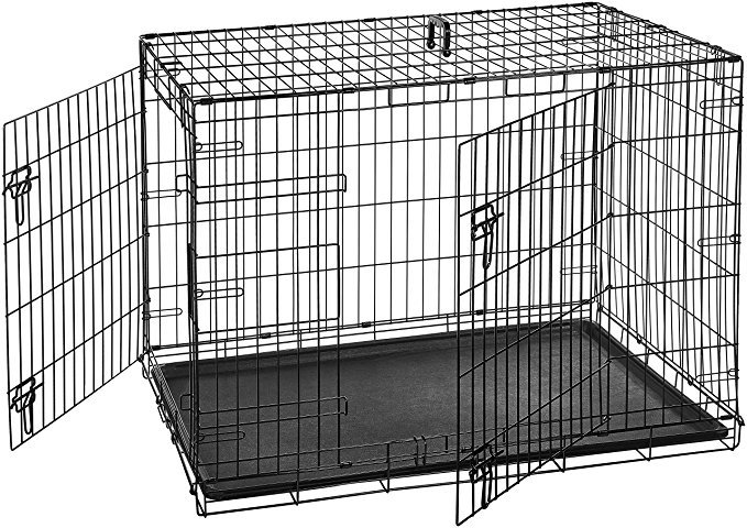 Normally $66, this dog crate is 21 percent off (Photo via Amazon)