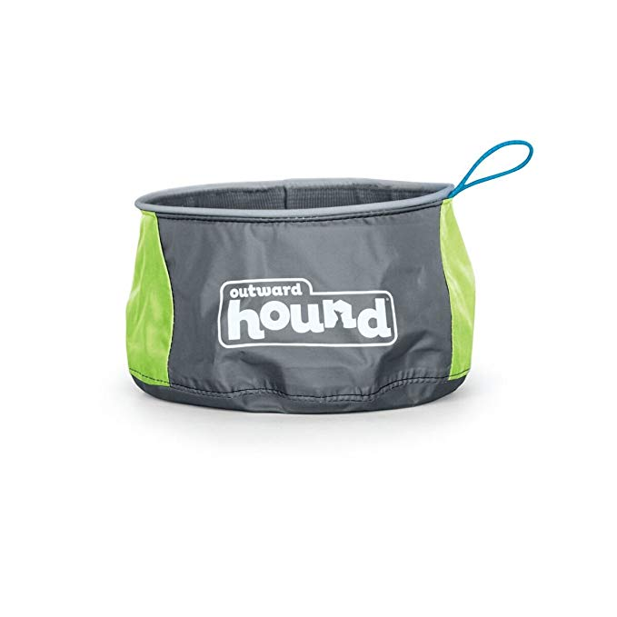Normally $7, this travel dog bowl is 29 percent off (Photo via Amazon)