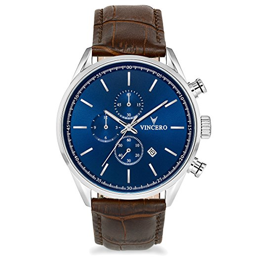 Normally $160, this men's watch is 30 percent off today (Photo via Amazon)