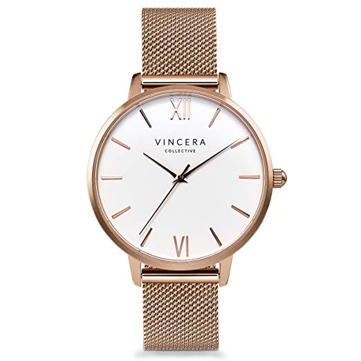 Normally $130, this women's watch is 30 percent off today (Photo via Amazon)